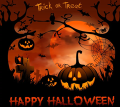 Happy Halloween!Trick or Treat?