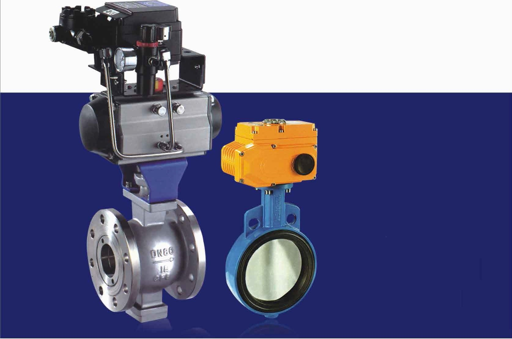 Pneumatic Flanged ball valve/Automatic Valve